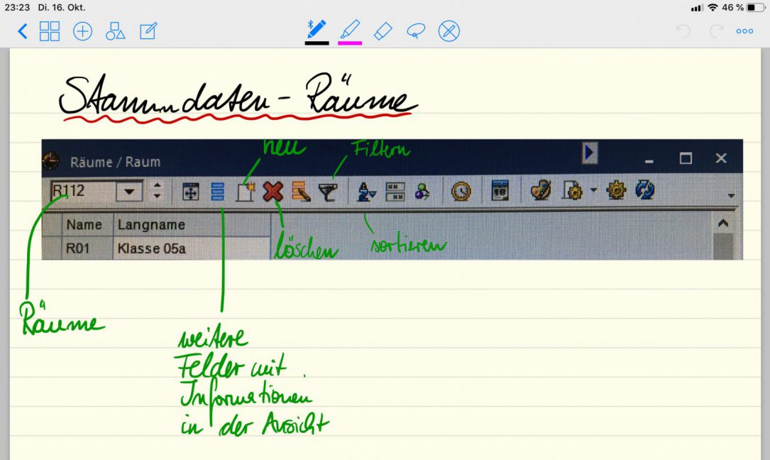 Goodnotes-Notizen-App-Lehrer-iPad-Schule-Tablet