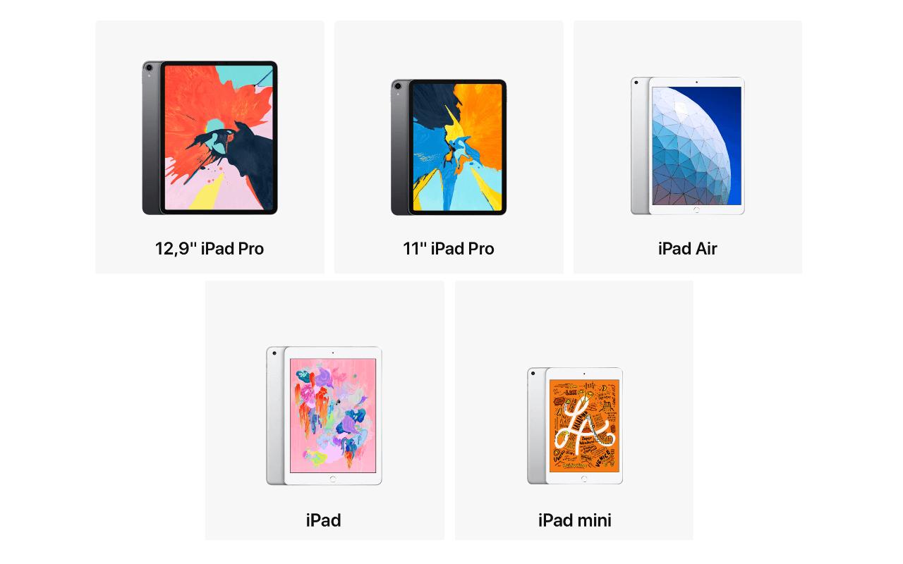 Welches iPad passt am besten für die Schule?