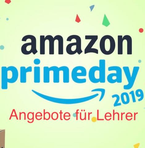 Angebote für Lehrer am Amazon Prime Day