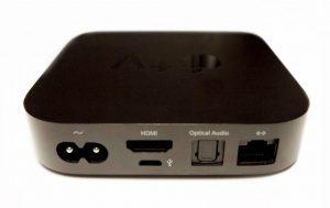 Mit einem AppleTV kannst du das Bild deines iPads, iPhones oder anderen Apple-Gerätes drahtlos an einen Beamer oder Fernseher übertragen.