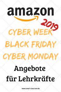 Cyber Week, Black Friday und Cyber Monday kommen und bringen Schnäppchen, Deals und Angebote für Lehrer