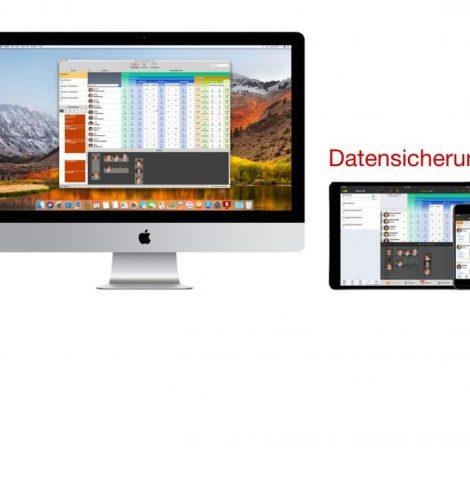 Mit TeacherTool kannst du direkt auf dem IServ eine Datensicherung ausführen.