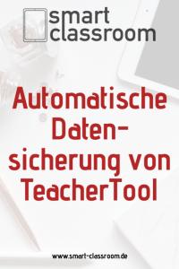 Datensicherung und Backup von TeacherTool auf einem WebDAV-Server hier am Beispiel von IServ.