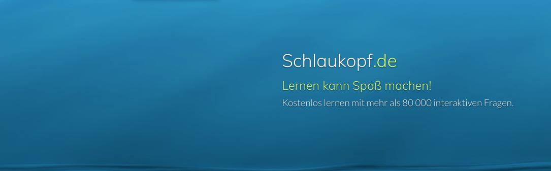 Schlaukopf.de ist mit eine der umfangreichsten Seiten, um Dinge zu vertiefen und zu üben.